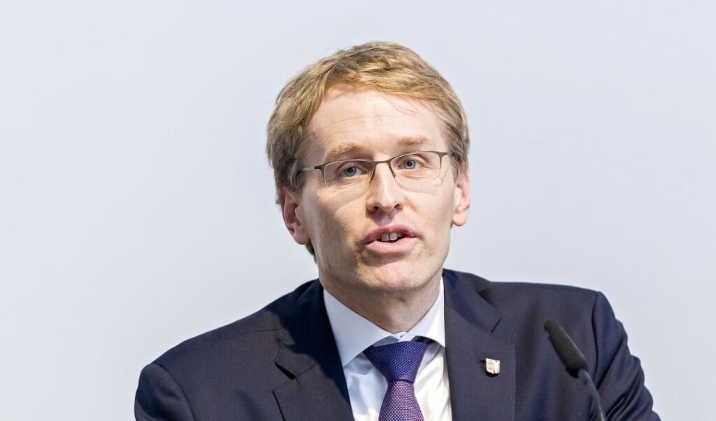 Ministerpräsident Daniel Günther hat auch für den Sport im hohen Norden eine erste Perspektive aufgezeigt.  ( Lars Salomonsen)
