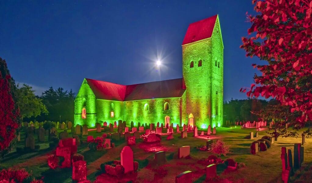 Die St. Laurentii-Kirche auf der Insel Föhr.  (Rolf Arno Specht)