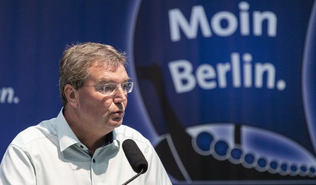 SSW-gruppeformand i landdagen, Lars Harms, går ligesom de to øvrige SSW-landdagsmedlemmer i karantæne frem til tirsdag i næste uge.  Lars Salomonsen  (Lars Salomonsen.)