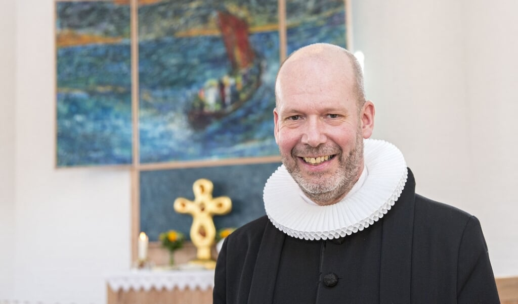 <p>Ulrich Vogel.</p>  (Lars Salomonsen)