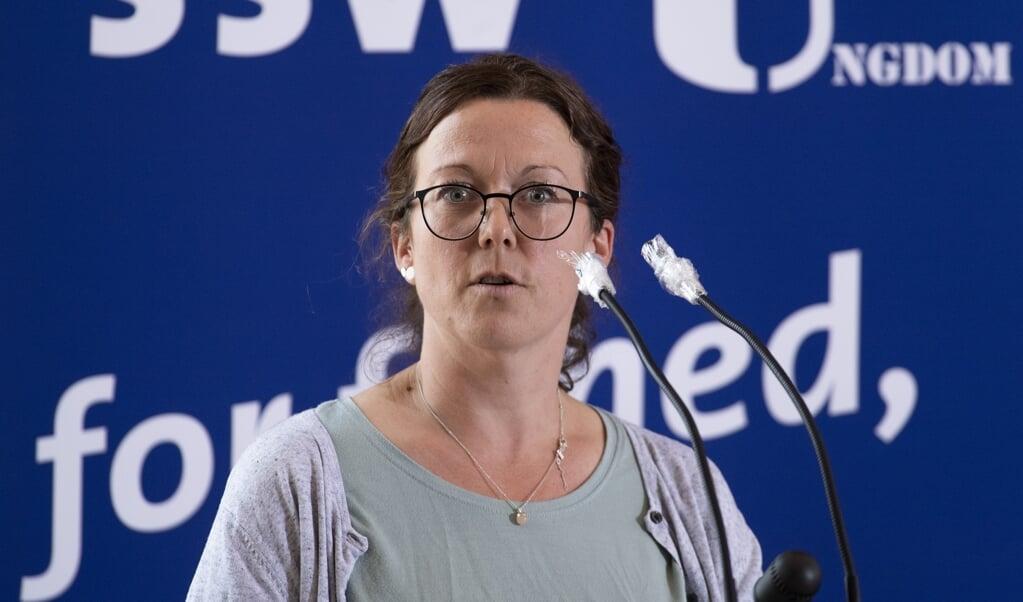 Sybilla Lena Nitsch opstiller som SSWs kandidat til Forbundsdagsvalget i valgkredsen Nordfrisland og Ditmarsken Nord.  (Arkivfoto: Tim Riediger)