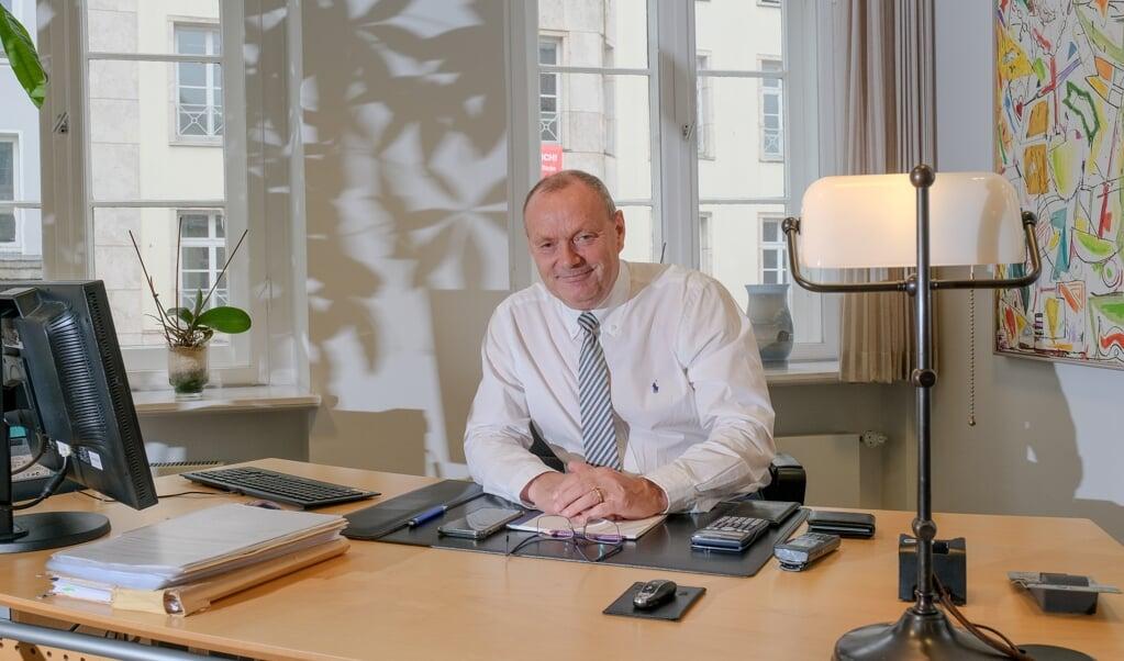 <p>Volker Andersen forventer at lave flere fritidsm&aelig;ssige end erhvervsm&aelig;ssige aktiviteter, n&aring;r han g&aring;r p&aring; pension den 1. oktober.</p>  ( Sebastian Iwersen)