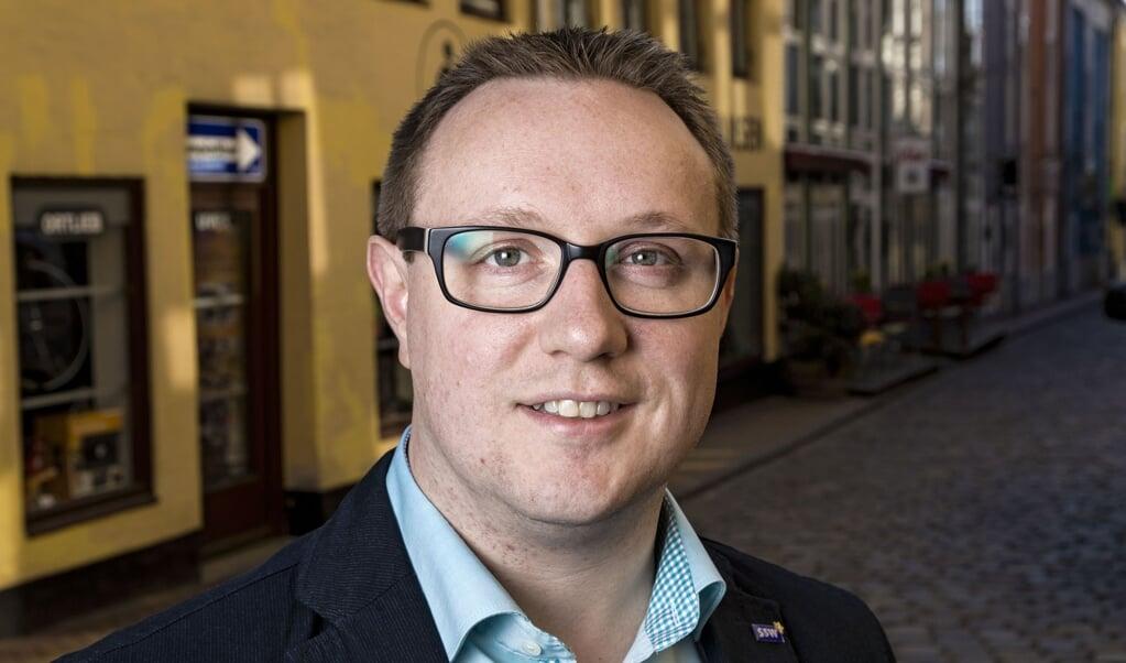 SSW kandidatportræt Christian Dirschauer  Lars Salomonsen.  (Lars Salomonsen)