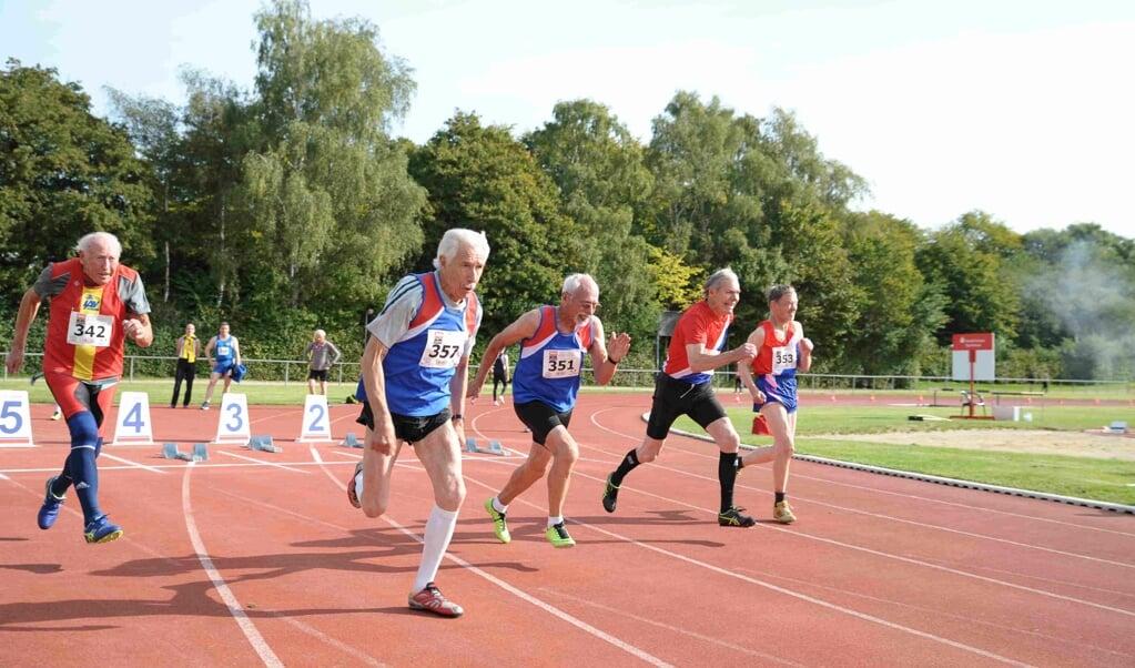 Auch bei der Landesmeisterschaft der Senioren wurde sich nichts geschenkt und um die Plätze gekämpft.  Arne Metzger  (ARNE METZGER                        )