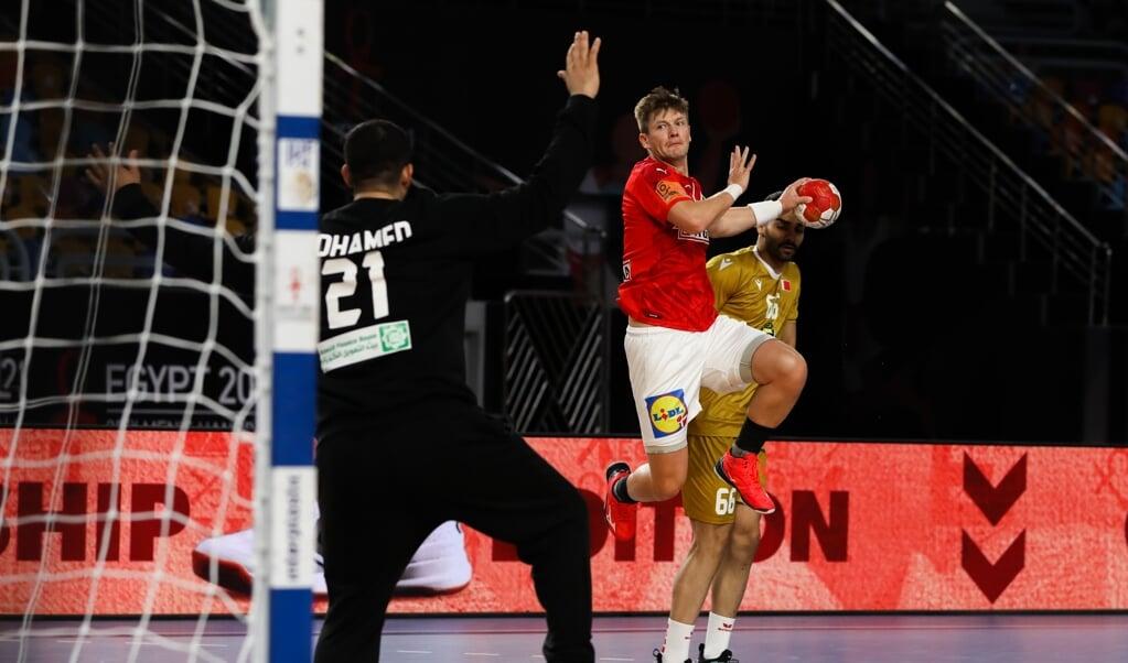 Lasse Svan og de danske håndboldherrer kom godt fra land til VM.  ( IHF)