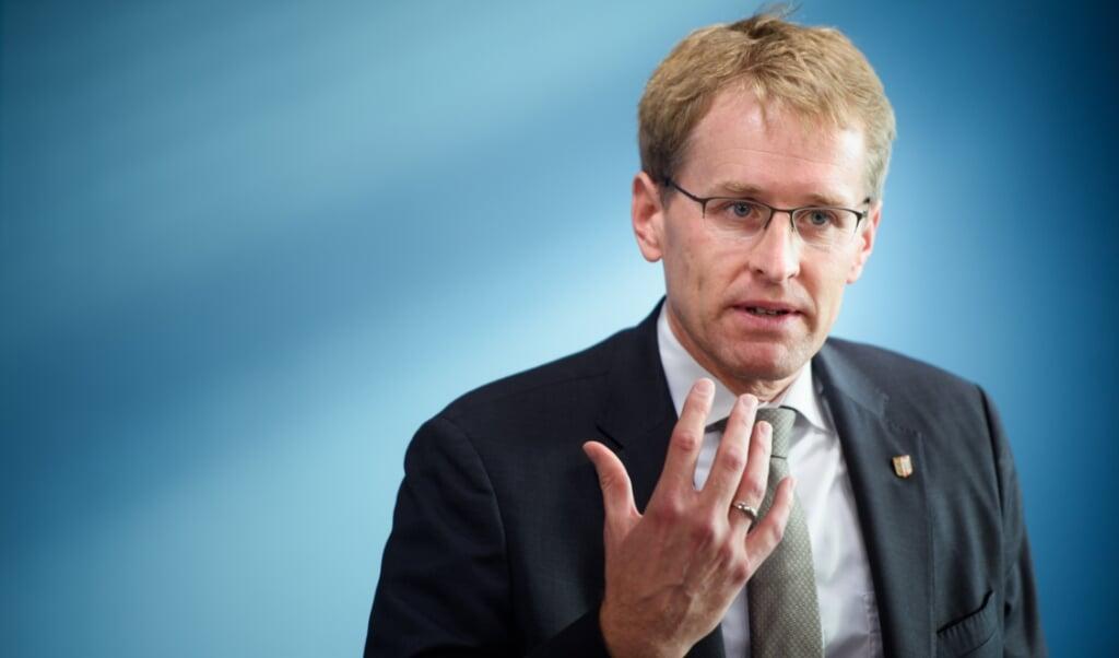 Ministerpræsident Dniel Günther.     (Gregor Fischer/dpa)