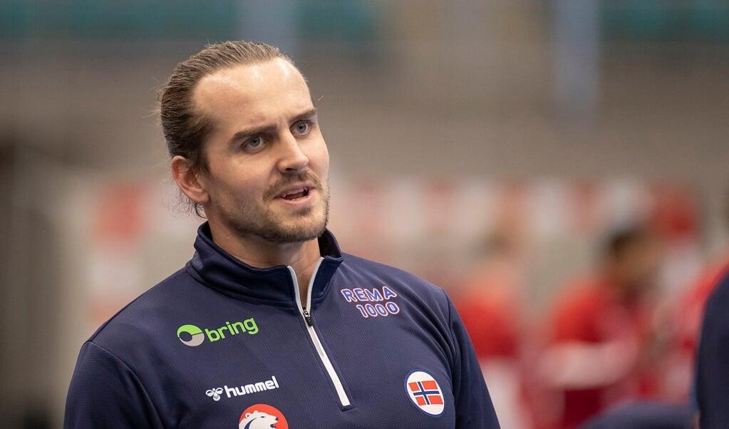 War mit Norwegens Nationalteam vor der WM im Trainingslager in Flensburg: Kent Robin Tønnesen - ein Kandidat für die SG?  ( Lars Salomonsen)