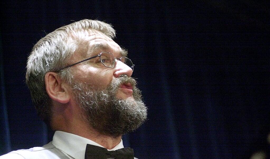 Helmut Asmus på scenen i Det lille Teater  (Arkivfoto: Lars Salomonsen)