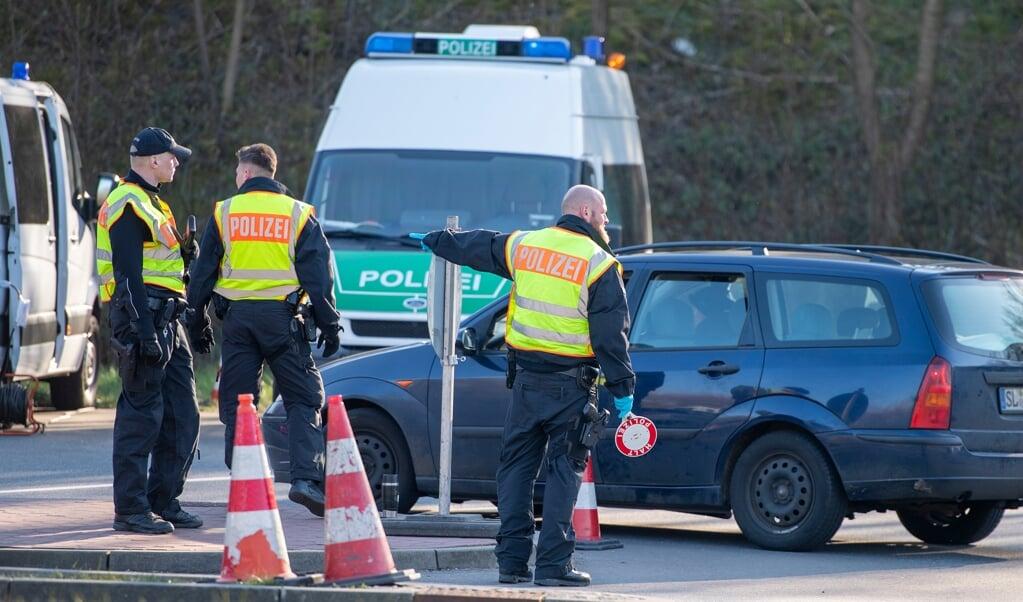 Der er foreløbig ingen planer om indrejsekontrol på tysk side, oplyser indenrigsministeriet i Berlin. Arkivfoto:  (Tim Riediger )