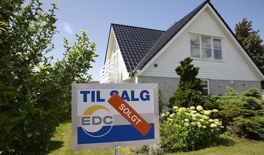 Ein durchschnittliches Haus wurde im Laufe eines Jahres um 150.000 Kronen teurer,  ( Arkiv)