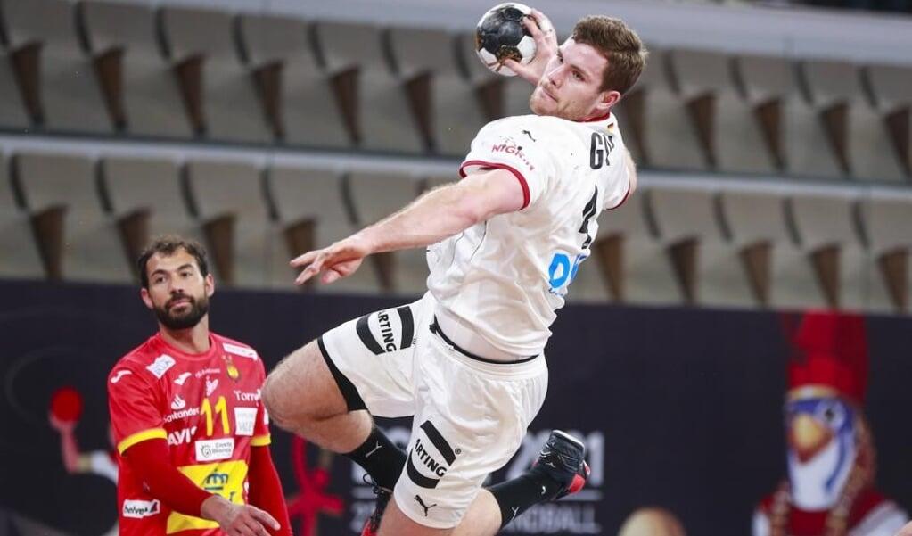 Johannes Golla von der SG Flensburg-Handewitt hat einen Platz im deutschen Aufgebot für die Qualifikation für Olympia ergattert.  ( IHF)