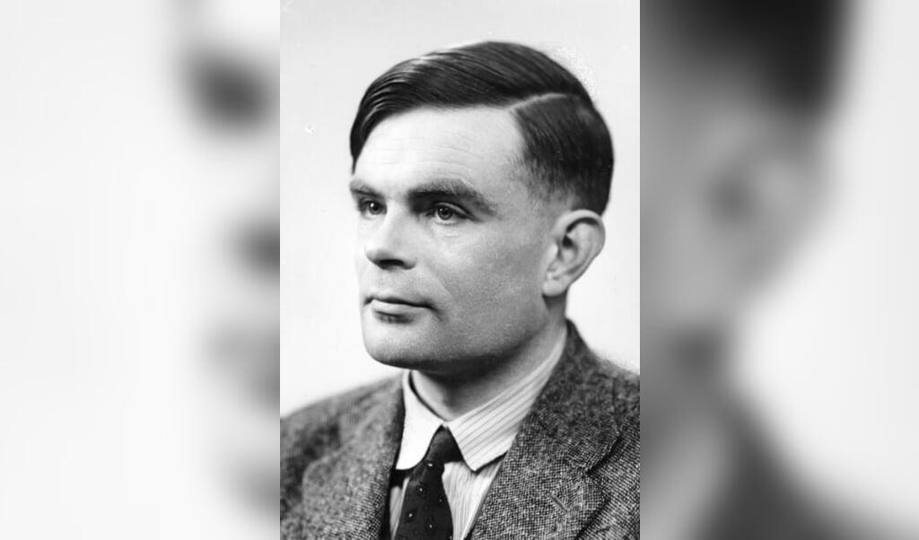 Den engelske matematiker Alan Turing, der stod i spidsen for arbejdet med at afkode Enigma under Den Anden Verdenskrig. Han døde i 1954, blot 42 år.  (The Art Archive/Ritzau Scanpix)