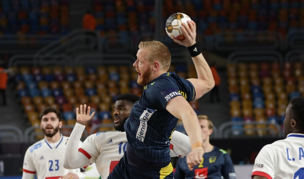 Jim Gottfridsson war erneut Dreh- und Angelpunkt im Spiel der Schweden.  ( Egypt2021)