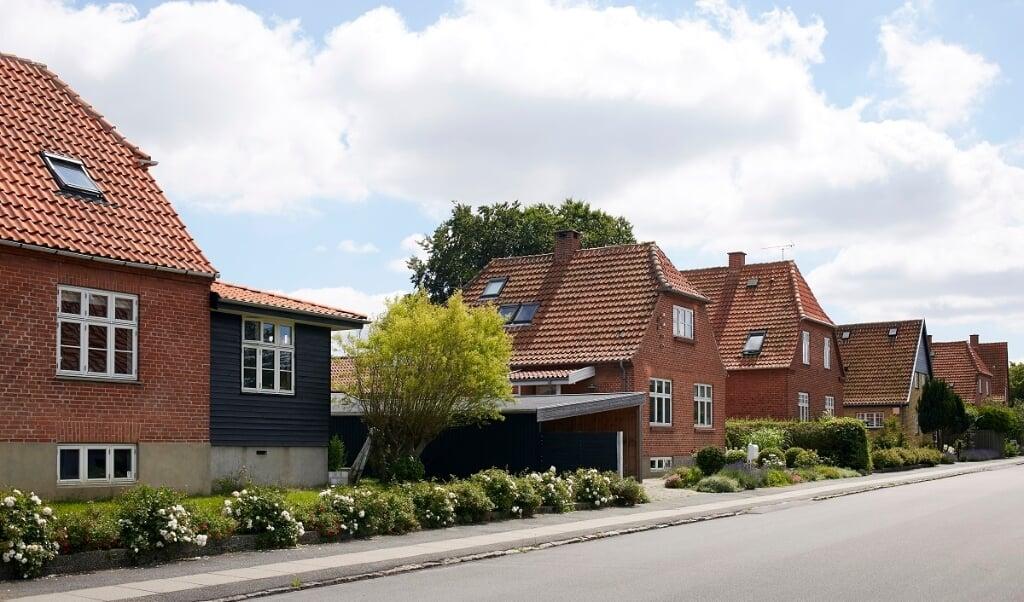 I Danmark blev der i 2020 solgt flere boliger end i rekordåret 2019, viser tal fra Boligsiden.   (Arkivfoto)