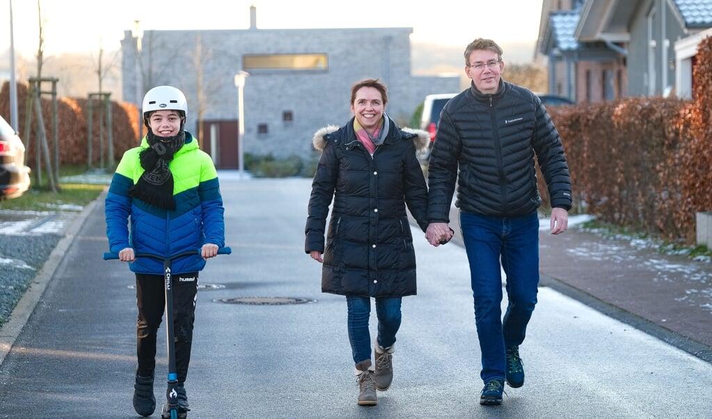 Familie Vistrup elsker at gå tur. De søger efter gode tur i hele Sydslesvig.  ( Sven Geißler)