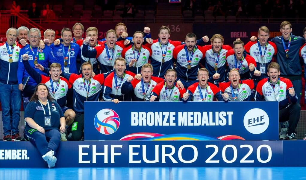 Bei der EM 2020 liefen die norwegischen Handballer auf der letzten Rille auf Platz drei ein. 2022 soll es mehr Ruhetage geben.  (Archivfoto)