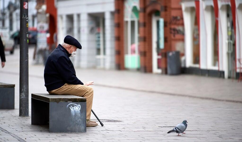 Hvis incidenstallet stiger til over 200, må man kun købe ind alene i Flensborg Kommune.  Martin Ziemer  (Martin Ziemer)