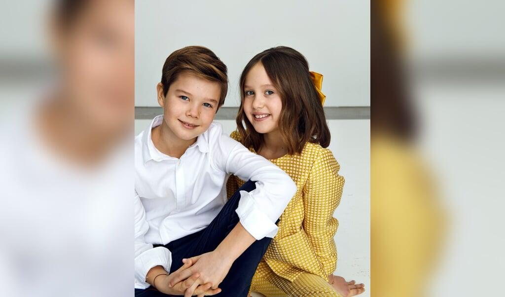 Fredag fylder prinsesse Josephine og prins Vincent ti år.  ( Franne Voigt)