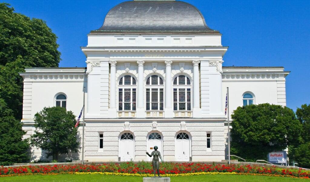 Das Theater in Rendsburg - Hauptsitz des Schleswig-Holsteinischen Landestheater. Archivfoto:  (Hans Christian Davidsen)