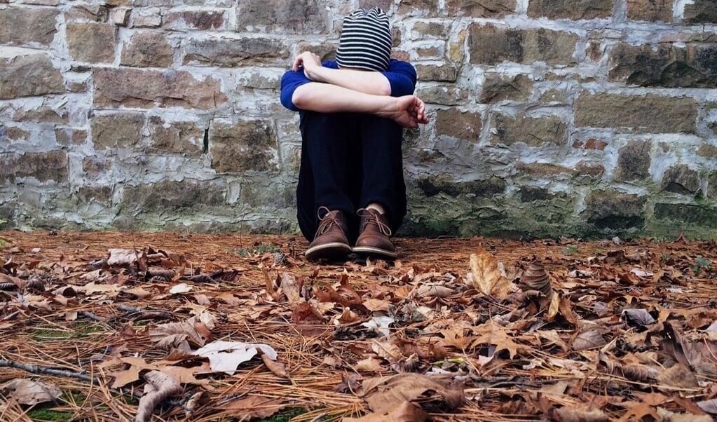 Hvad er der galt med mig, hvorfor kan jeg ikke bare være glad? Hvis den unge spørger om det, kan det godt være, at der ikke har været meget at grine ad på det seneste, men det kan også være, det er tale om depression som kræver opmærksomhed.  ( Wokandapi, Pixabay)