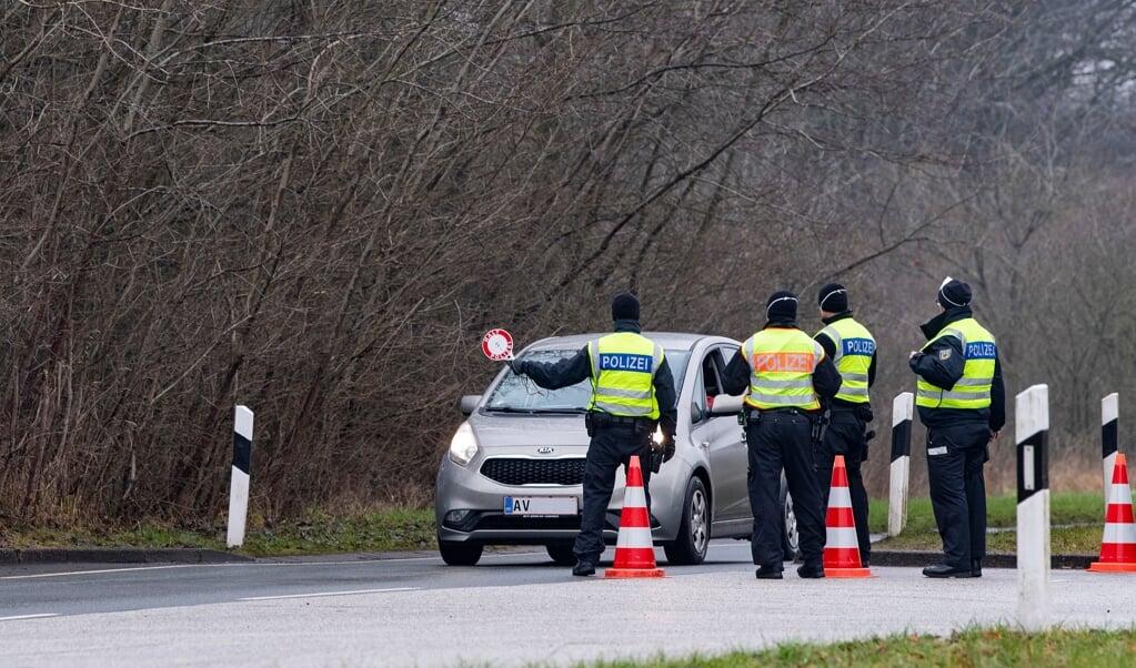 Det tyske grænsepoliti foretager kun undtagelsesvis  stikprøvekontroller ved indrejse fra Danmark. Arkivfoto:   (Kira Kutscher)