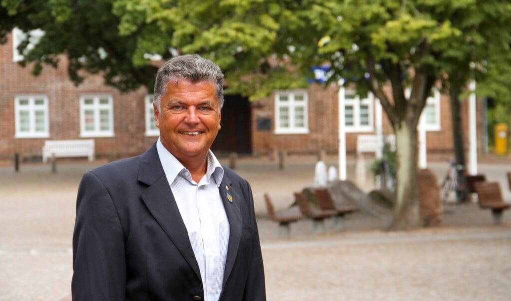 Bernd Neumann har mange års erfaring fra både lokalpolitikken og forvaltningen og går nu efter at blive Nibøls borgmester.  (Privatfoto)