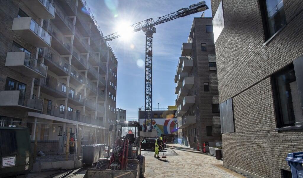 Blandt andet på byggeuddannelserne er der sidste år indgået et stigende antal praktikpladsaftaler. (Arkivfoto)  (Henning Bagger/Ritzau Scanpix)