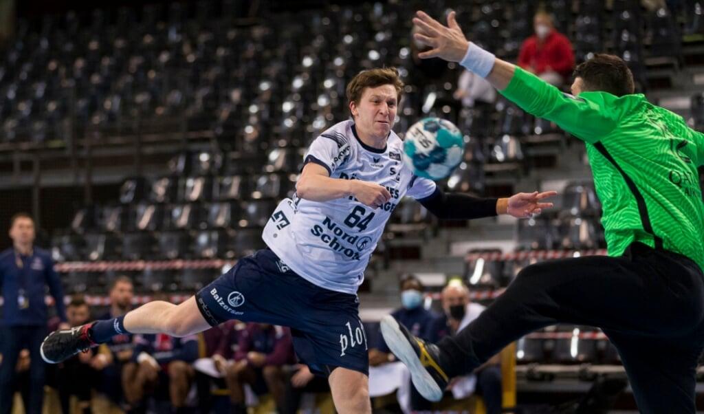 Lasse Møller wird vorerst nicht für die SG Flensburg-Handewitt in Aktion kommen.  ( Lars Salomonsen)