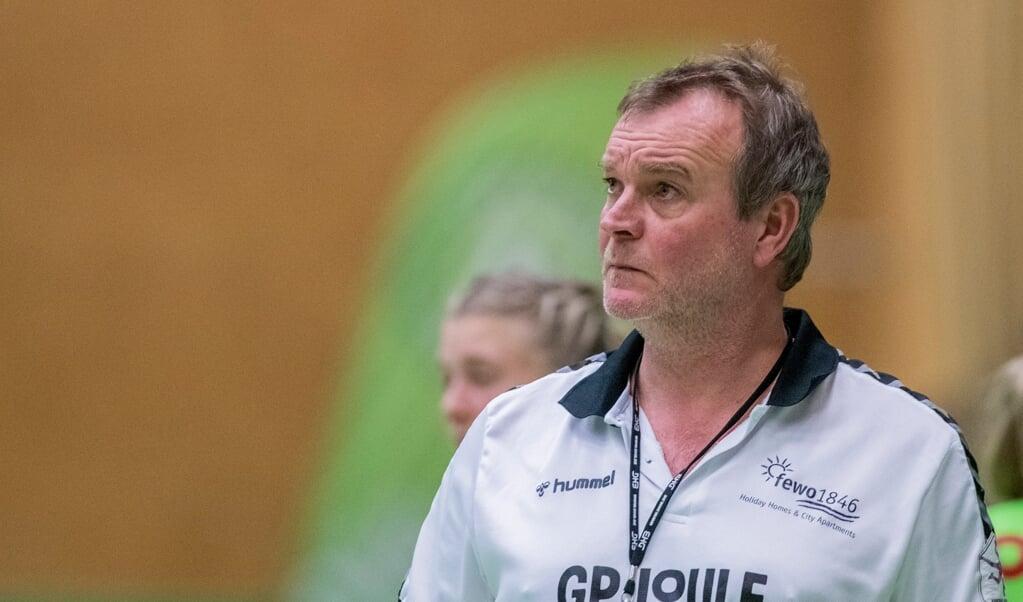 Nordfrauen-Trainer Olaf Rogge tritt noch auf die Euphoriebremse.  ( Tim Riediger)
