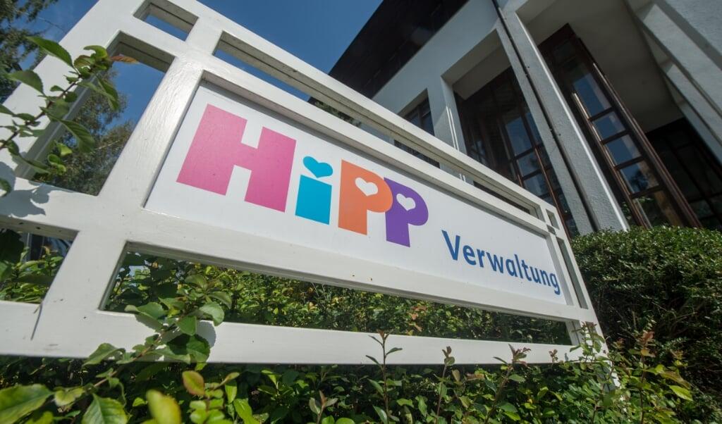 Den seneste bombe var adresseret til den bayerske virksomhed Hipp, der fremstiller børnemad.   (Armin Weigel/dpa)