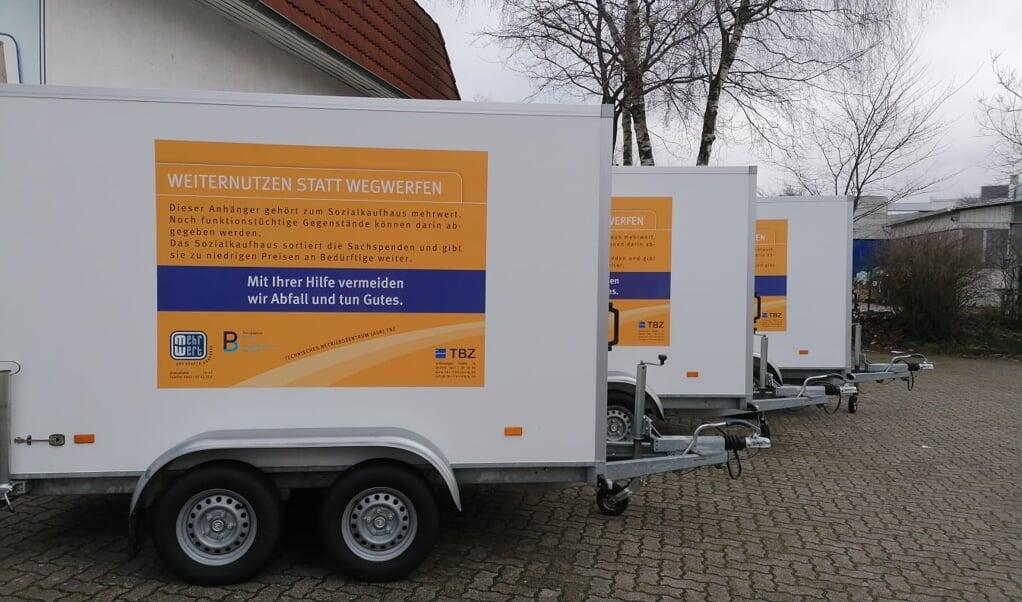 Genbrugsstationerne i Kauslund og Lornsendamm åbner ikke endnu.  ( Hans-Heinrich Hansen)