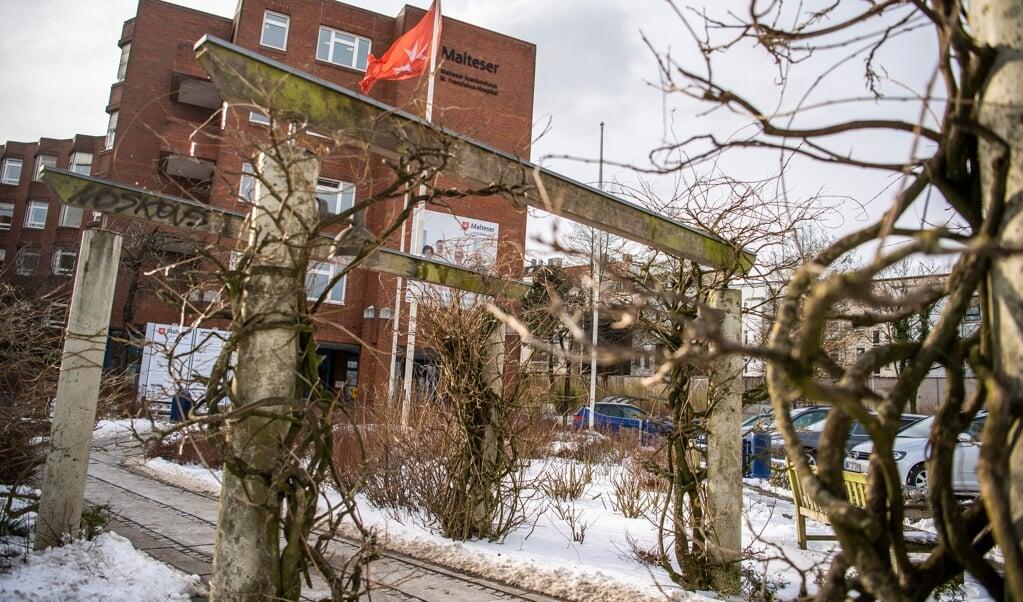 St. Franziskus Hospital i Flensborg får travlt med nye coronapatienter.  ( Kira Kutscher)