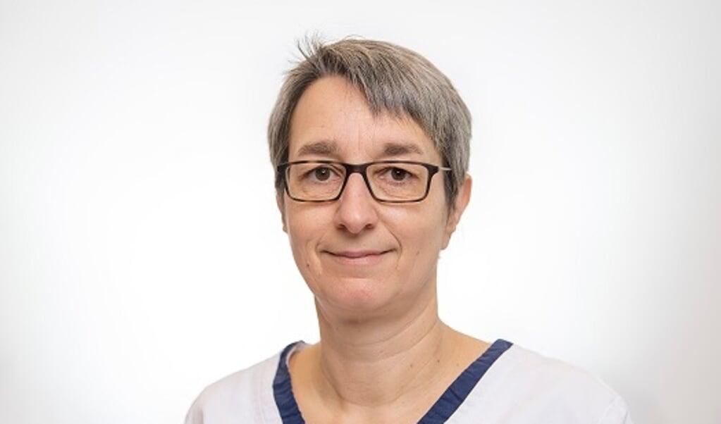 Susanne Braun, fodplejer, Dansk Sundhedstjeneste  ( Martin Ziemer / Nordpool)