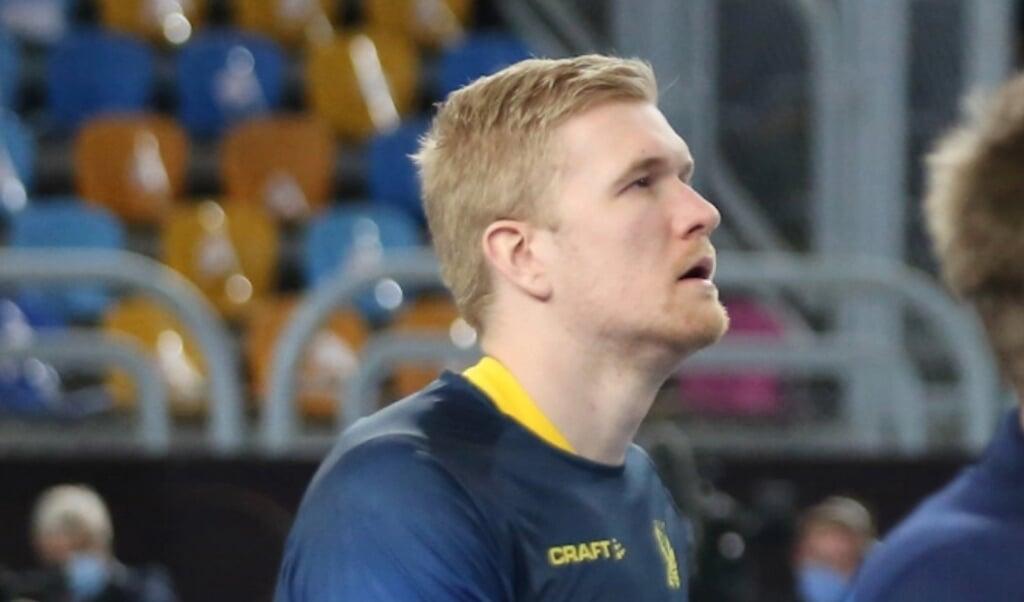 Anton Lindskog darf endlich spielen.  ( IHF)