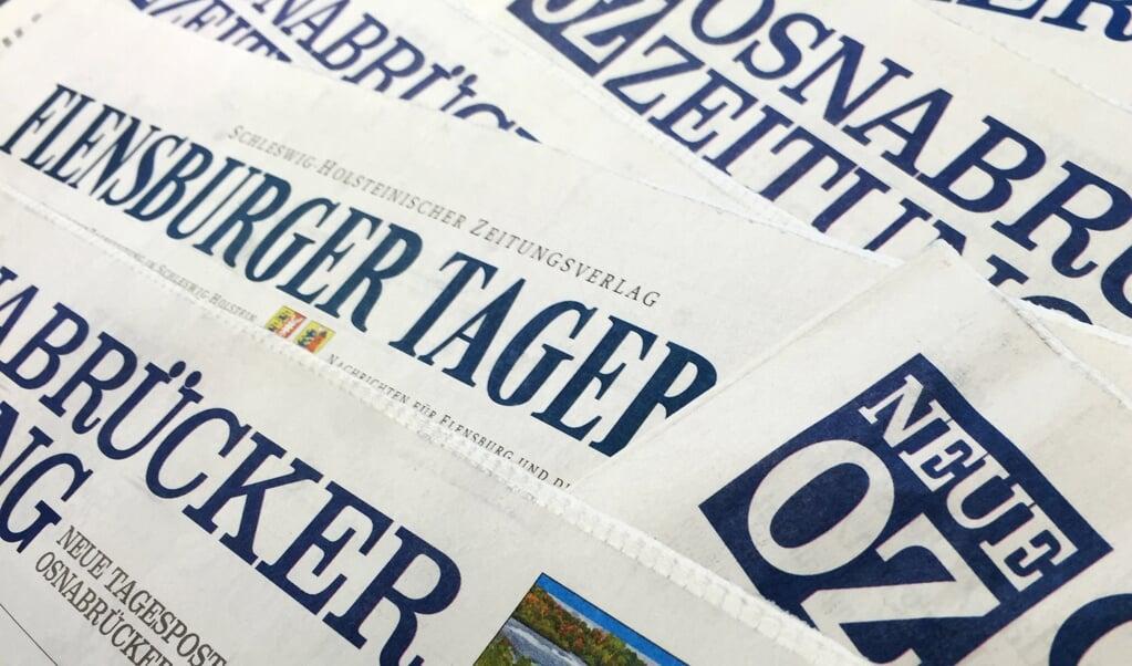 s:hz, som Flensburger Tageblatt er en del af, er som flertallet af delstatens andre bladhuse blevet overtaget af koncerner udenfor delstaten. Rationaliseringer har betydet, at meget af stoffet nu deles med medier over hele Tyskland.  (Arkivfoto: dpa/Marcus Brandt)