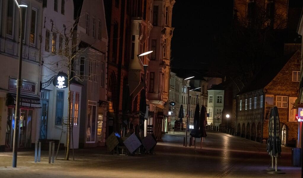 Nu må flensborgerne igen være i byen om natten.   ( Tim Riediger)