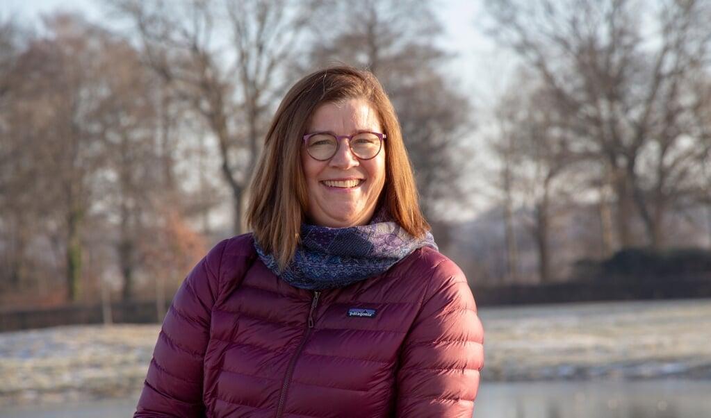 Birgitte Thun har gode minder om Lyksborg, hvor hun tilbragte sine første år. Nu vender hun tilbage.  ( Flemming Stentoft)