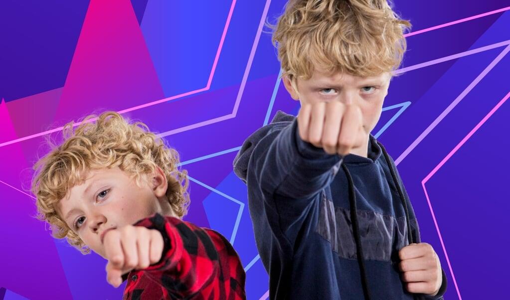 """De to brødre Holger og Asger Flensborg Revsbech deltager som gruppen """"SuperBrothers"""" med sangen """"Vi vil ha lov"""".  (Carsten Mol/DR/Free)"""