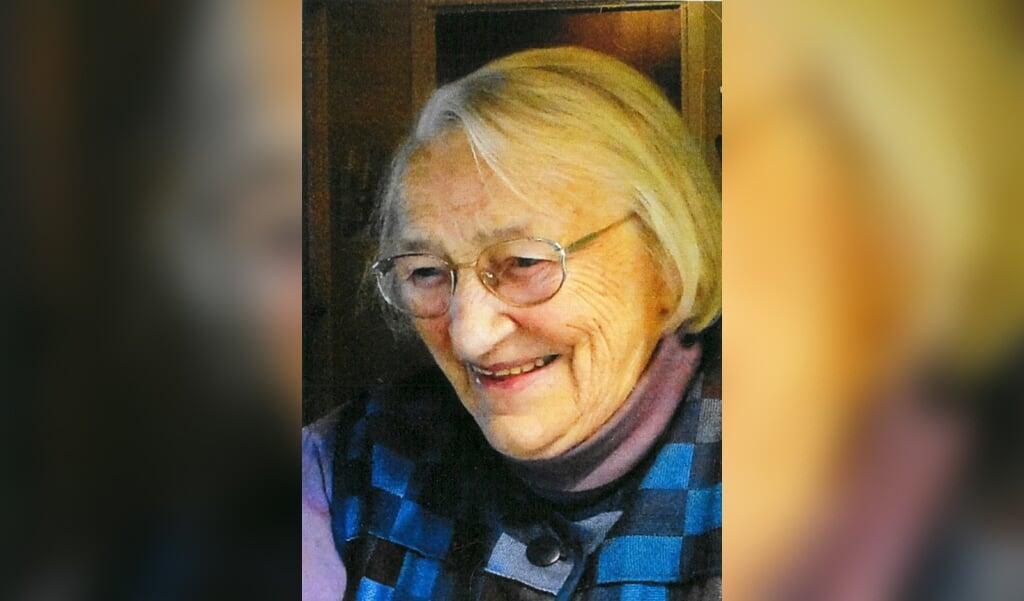 Hanne Svenstrup mente selv, at hun ville blive langt over 100 år. Det nåede hun ikke. Hun døde 99 år gammel i sit hjem i Glud ved Juelsminde.  (Privatfoto)