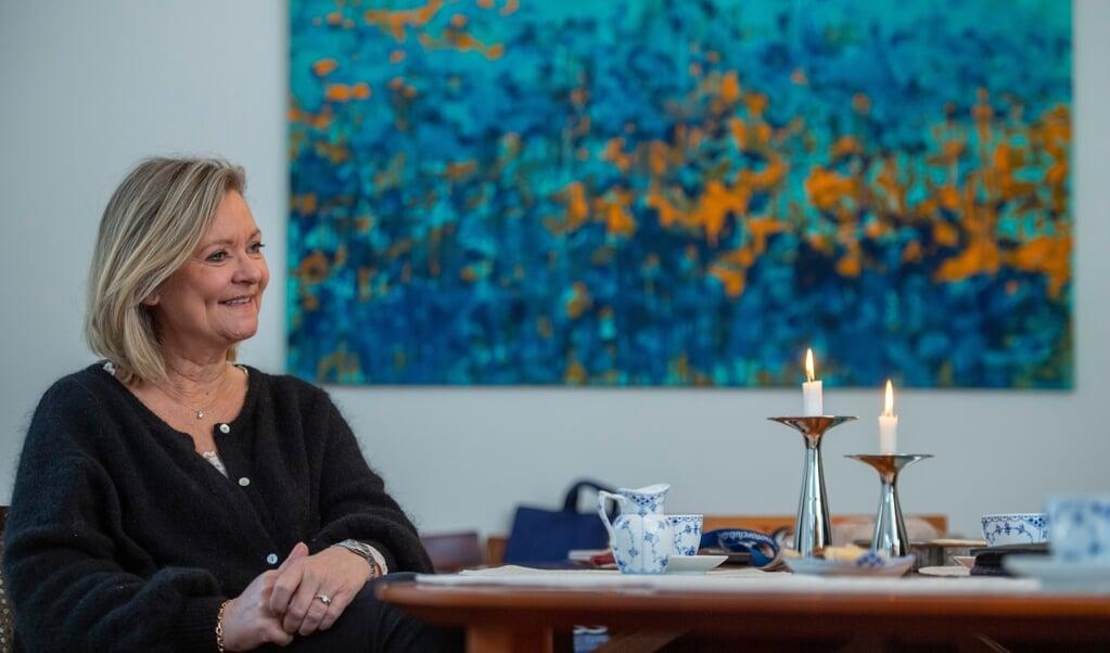 - Vi har hver vores hverdag, og så er vi sammen om arbejdet, når der er behov for det, siger Birte M. Andersen, der er gift med den danske generalkonsul i Flensborg, Kim Andersen.  ( Tim Riediger)