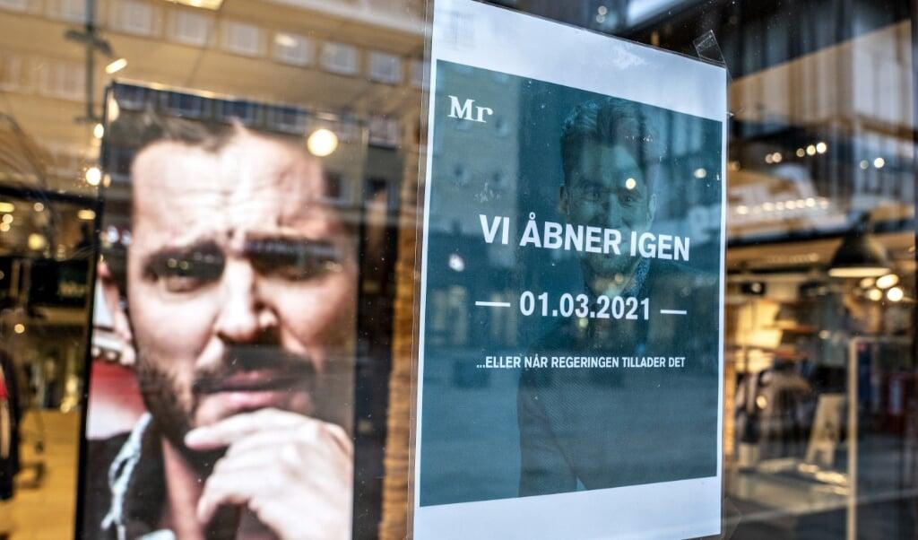 Mandag kan detailhandlen igen byde kunderne velkomne i butikkerne.  ( Henning Bagger/Ritzau Scanpix)