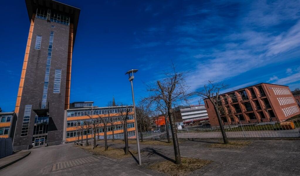 Zwischen Rathaus und Sydbank soll ein Hotel entstehen. Welche Art von Hotel, darüber sind sich Investor und Politik noch nicht einig.   (Sebastian Iwersen)