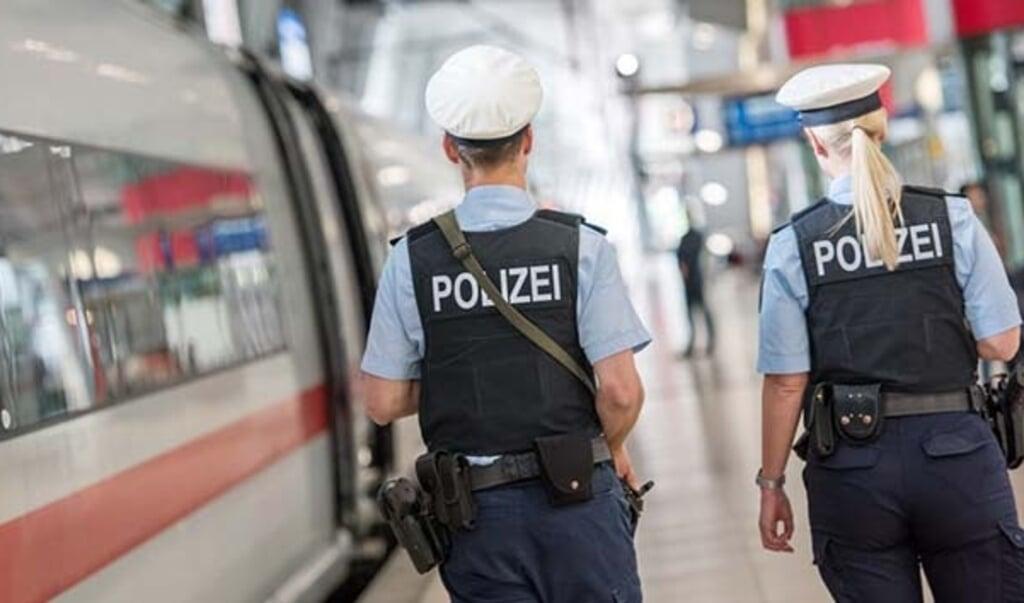 Modelfoto: Bundespolizei.