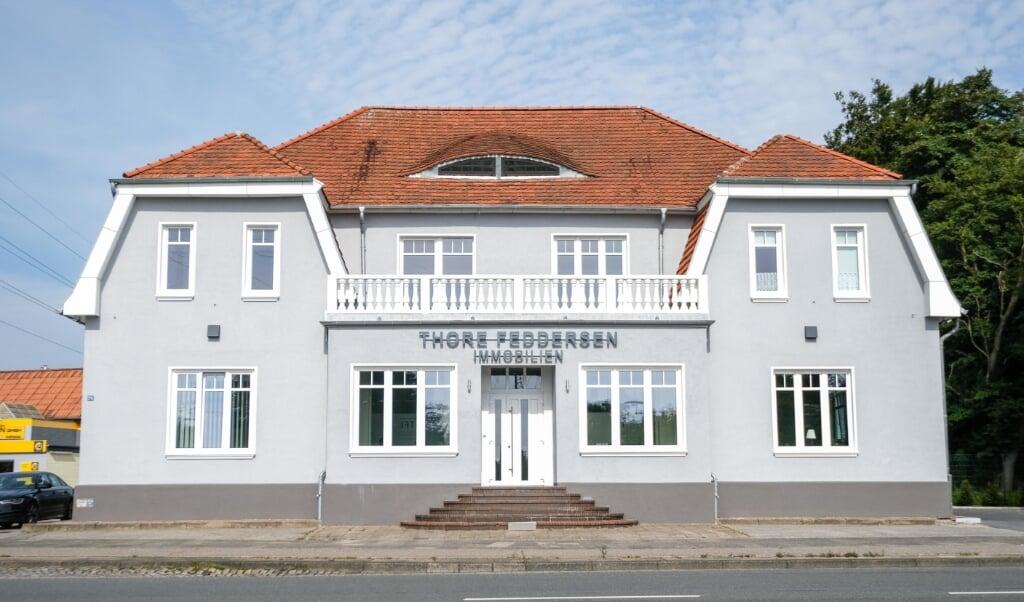 Die Thore Feddersen Immobilienmanagement GmbH hat ihren Sitz am Friedenshügel in Flensburg.   (Archivfoto)