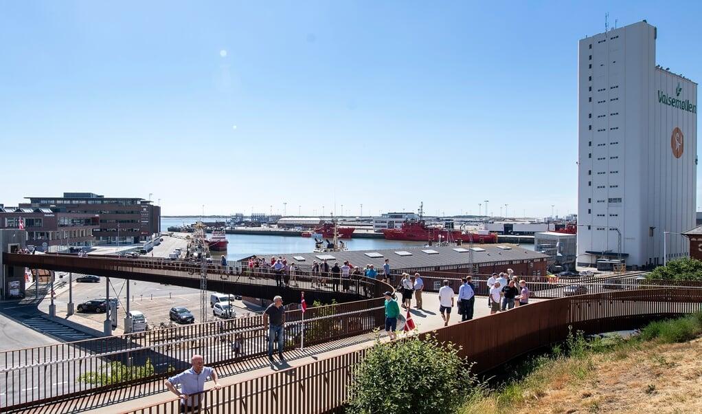 Esbjerg er en havneby ved Jyllands vestkyst og den femtestørste by i Danmark.  (Arkiv)