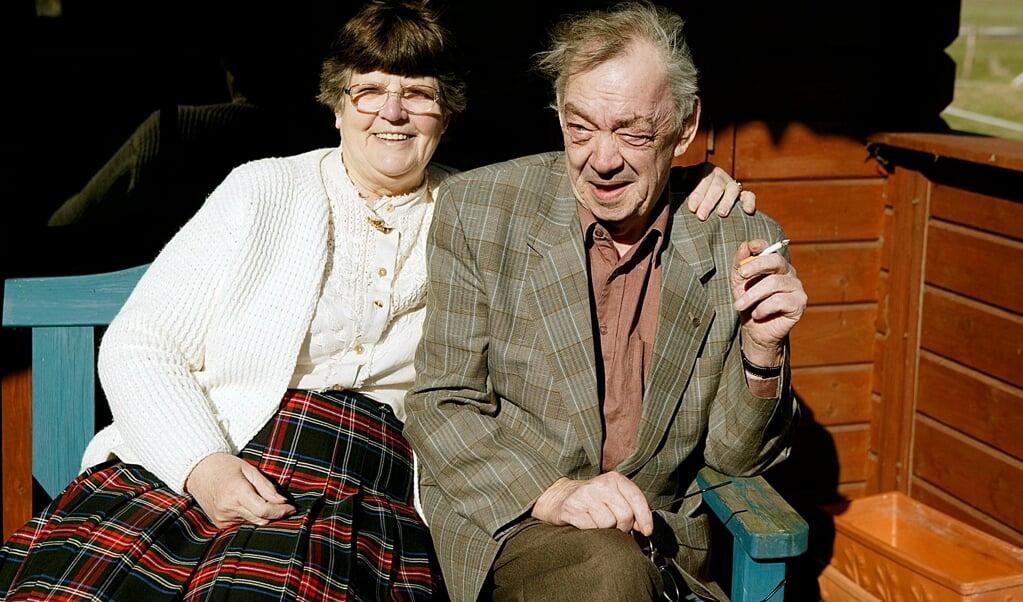 Arkivfoto fra et interview med Ingeborg og Jürgen Jürgensen til deres guldbryllup i 2005.  (Lars Salomonsen)