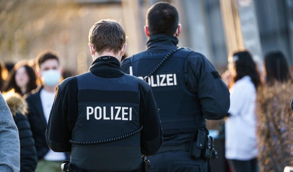I hele delstaten vil politiet især holde øje med rekreative områder, turist-hotspots og områder, hvor incidenstallene er høje.   ( Andreas Arnold/dpa)