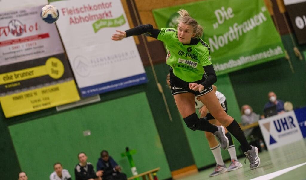 Lotta Woch gehörte in den vergangenen Jahren immer zu den absoluten Leistungsträgerinnen des TSV Nord Harrislee.   ( Sven Geißler)