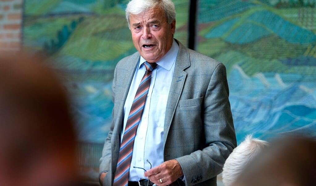 Ejler Schütt, viceborgmester i Aabenraa, har nu meldt sig ind i sit fjerde parti.  (Arkivfoto: Søren Gylling, JydskeVestkysten)