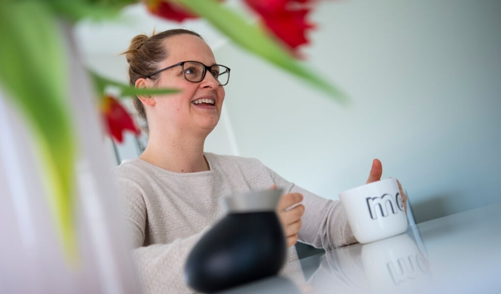 Meike Dirschauer, der i lørdag den 24. april fylder 40 år, får ikke fejret den runde dag med en stor fest. Men så har hun så meget andet at tage sig til.  ( Kira Kutscher)